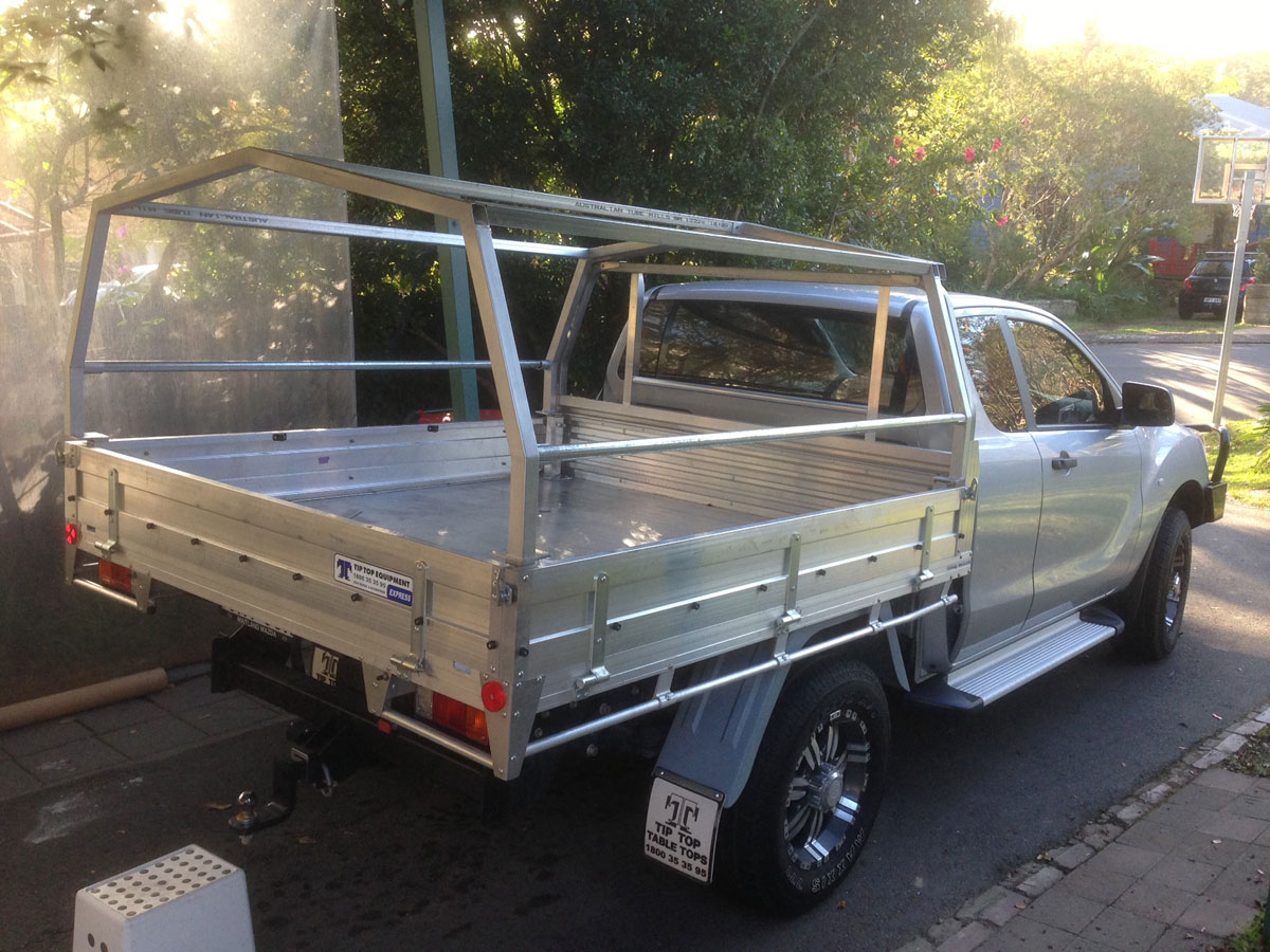 Frame Canvas Ute Canopy For Tray Back Utes Requiring