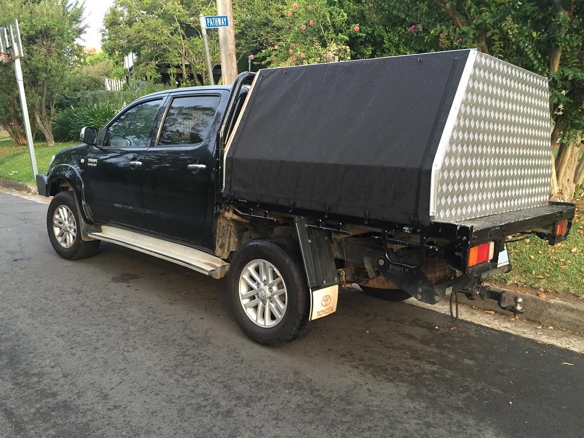 ... canopies canvas ute canopies & Frame u0026 Canvas Ute Canopy for Tray back utes requiring frame ...