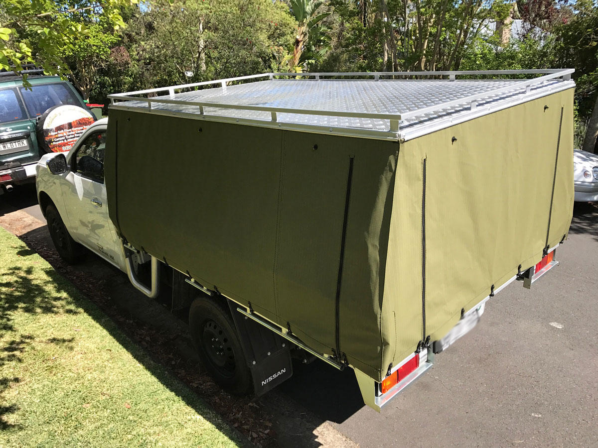 Hard Top Canvas Ute Canopies CoversWallaby Track