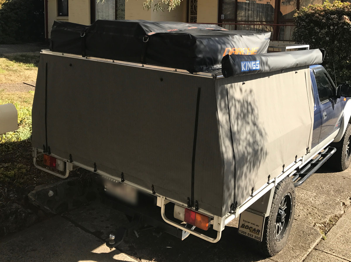 Canvas Ute Canopy Canvas Ute Canopy ... & Hard Top Canvas Ute Canopies u0026 Covers:Wallaby Track Canvas