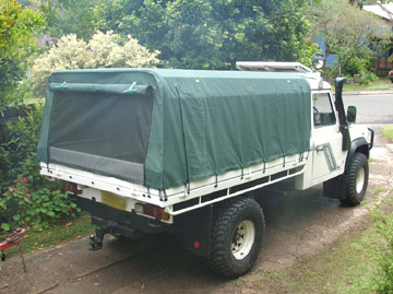 Ute Canopies Defender
