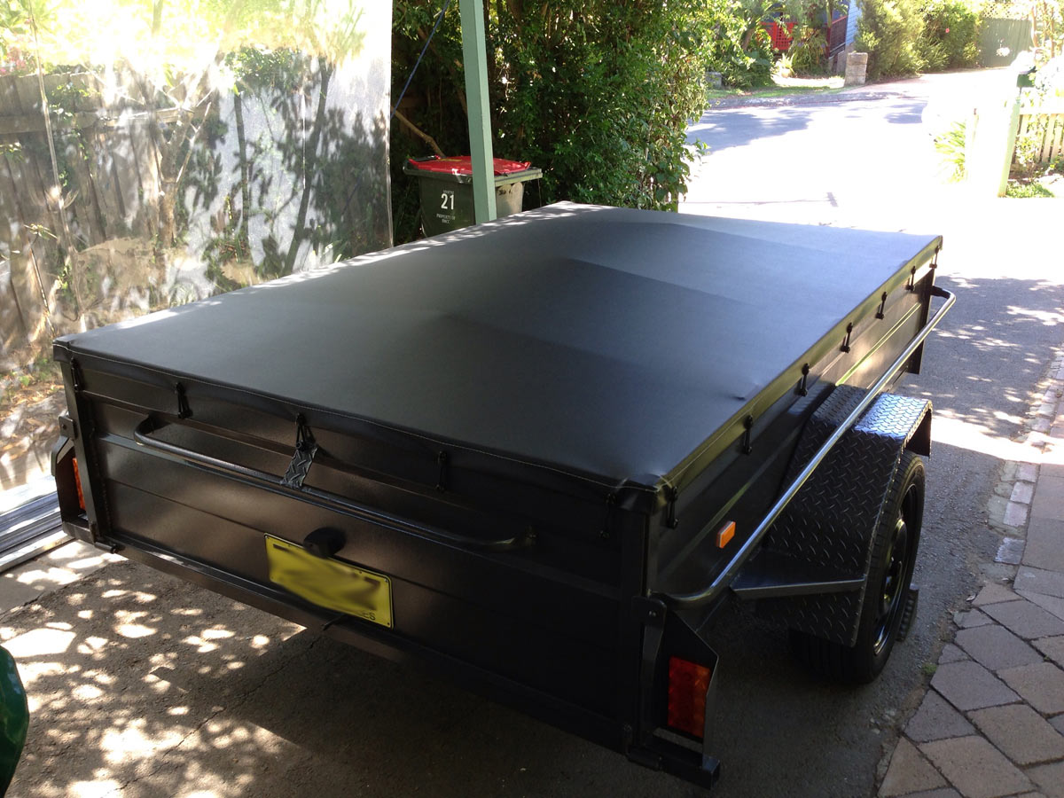 how to make a trailer cover