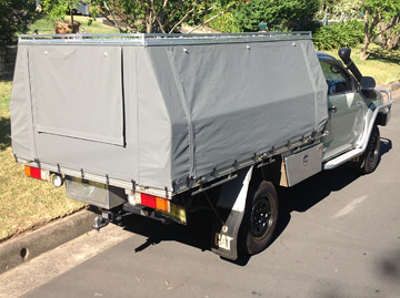 Hard Top Ute Canopies