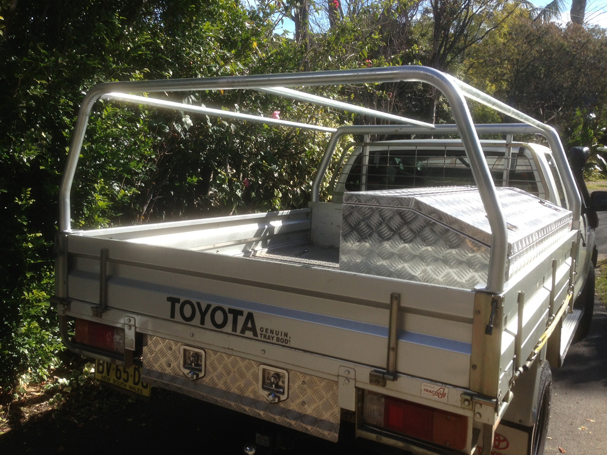 Hilux Ute Canopy Kit & Canvas canopy kits for Hilux : Wallaby Track Canvas