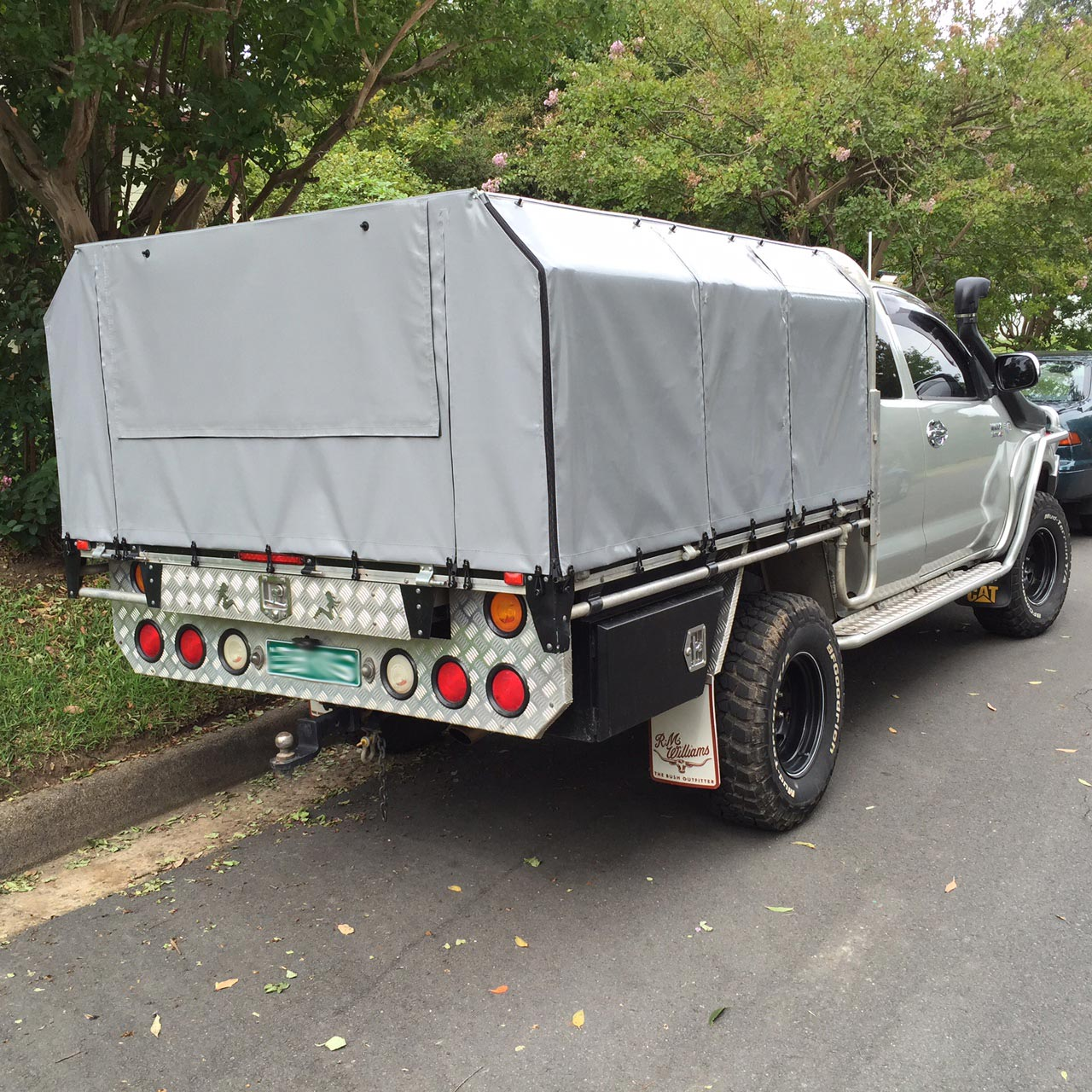 Frame & Canvas Ute Canopy For Tray Back Utes Requiring