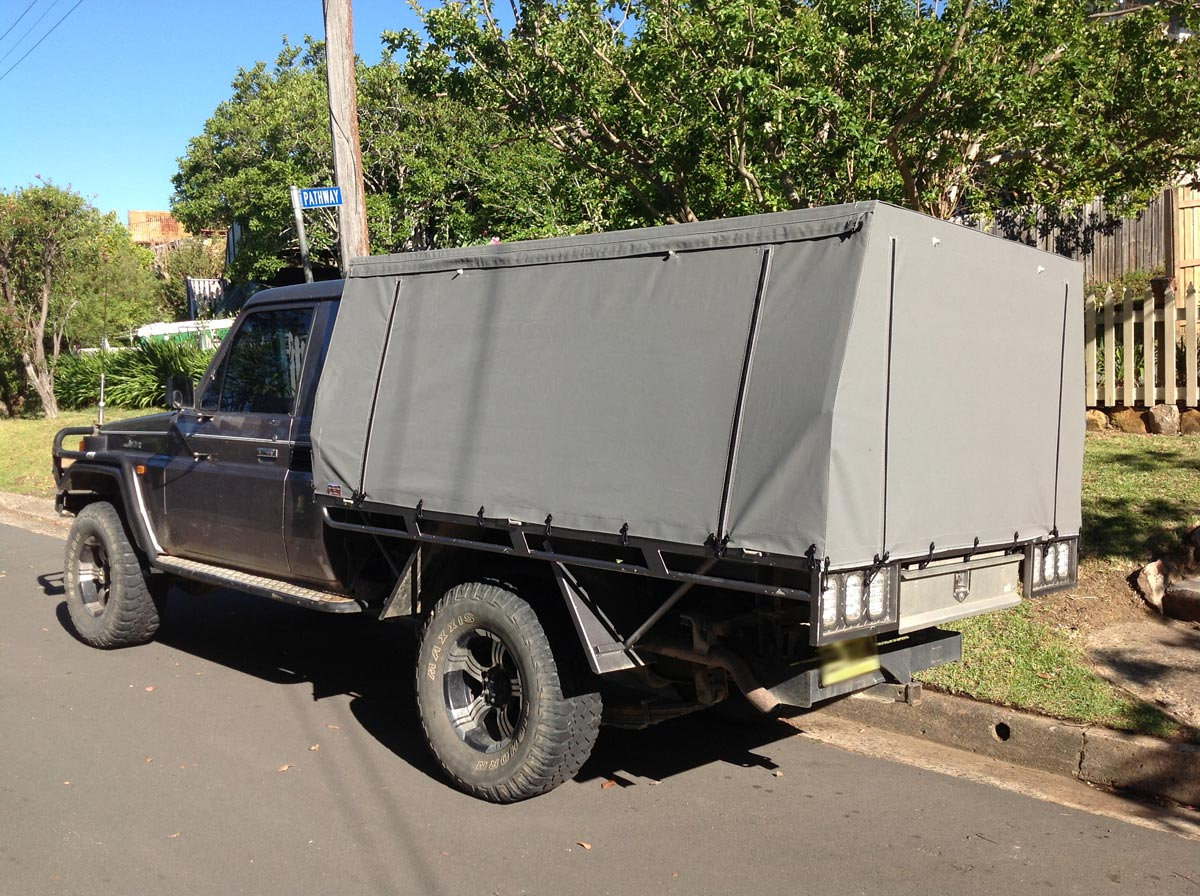 Canvas Ute Covers LandCruiser Canopies