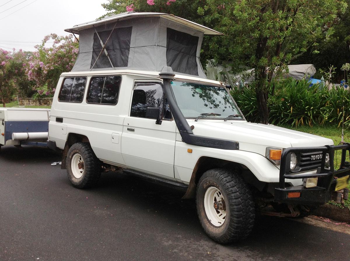Recanvas Recover Pop Top Caravans Wallaby Track Canvas