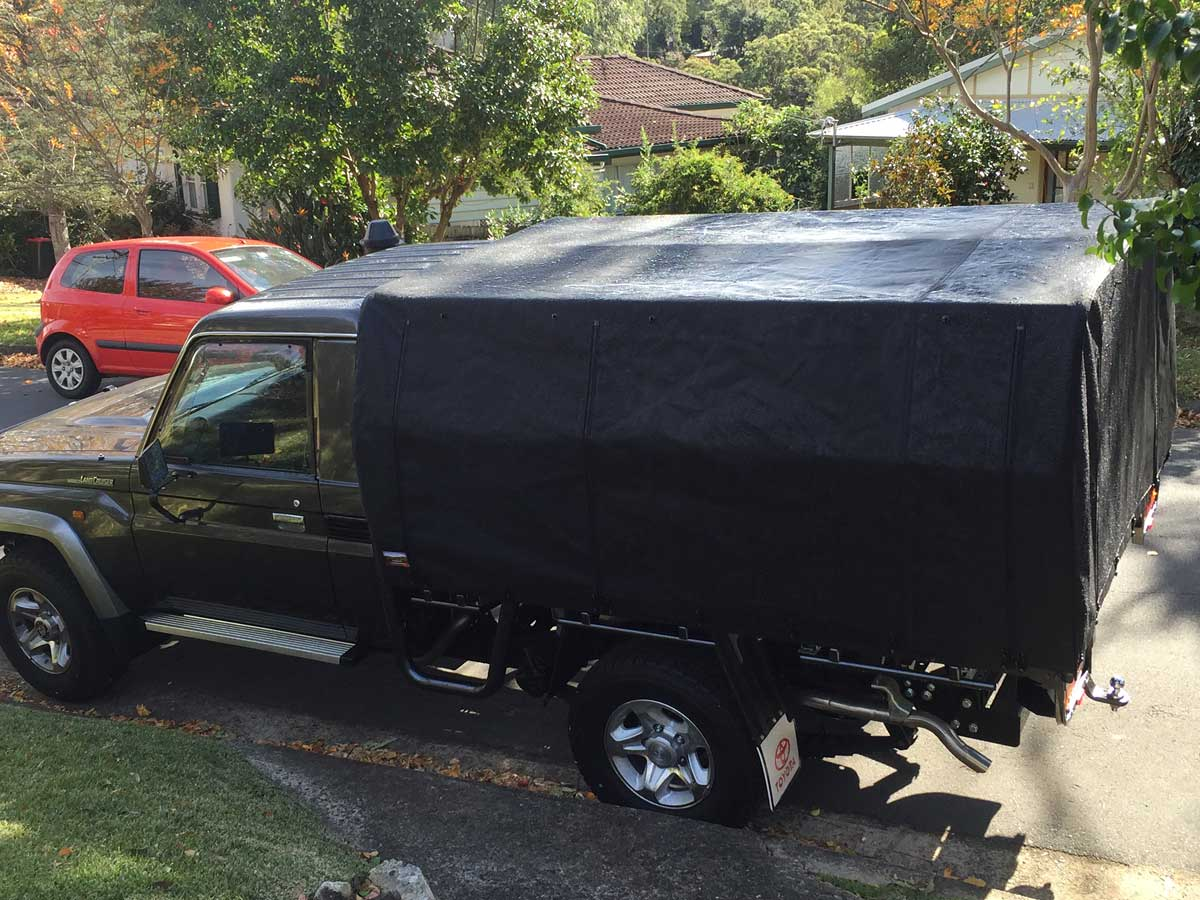Canvas Canopy Kits For Hilux Wallaby Track Canvas