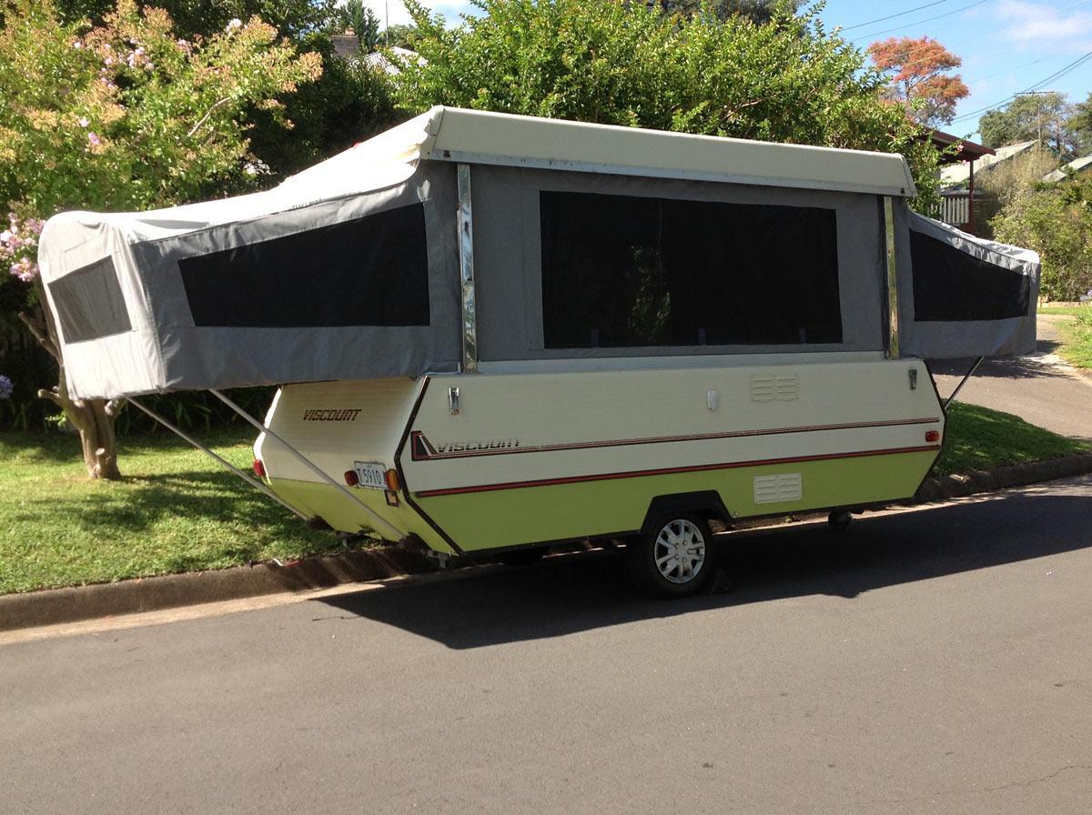 Luxury 1978 Viscount Camper  Trailer