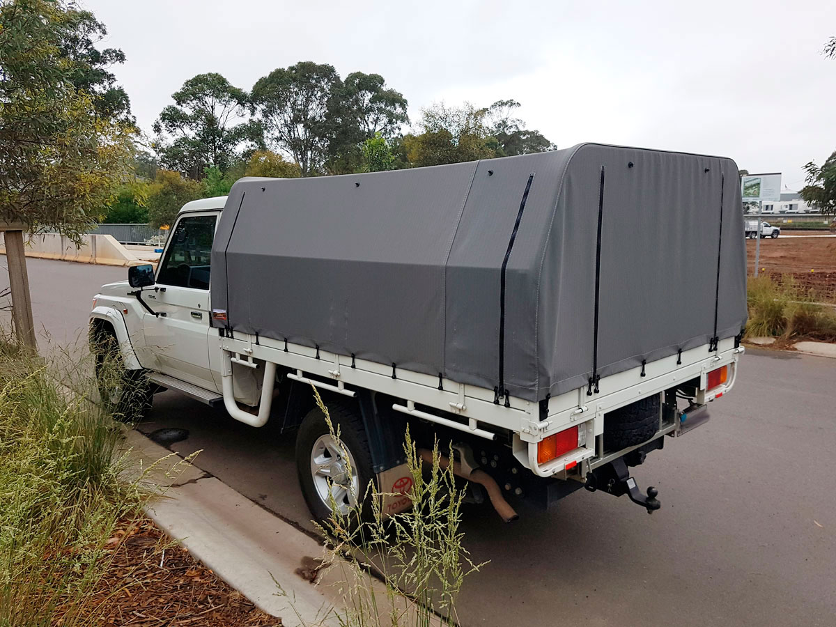Canvas canopy kits for hilux wallaby track canvas - Canvas canopy ...