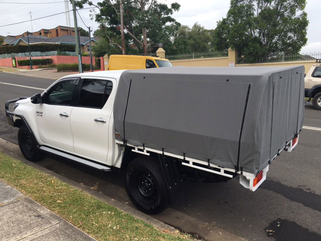 ... utes Hilux Canvas Canopy ... & Canvas canopy kits for Hilux : Wallaby Track Canvas