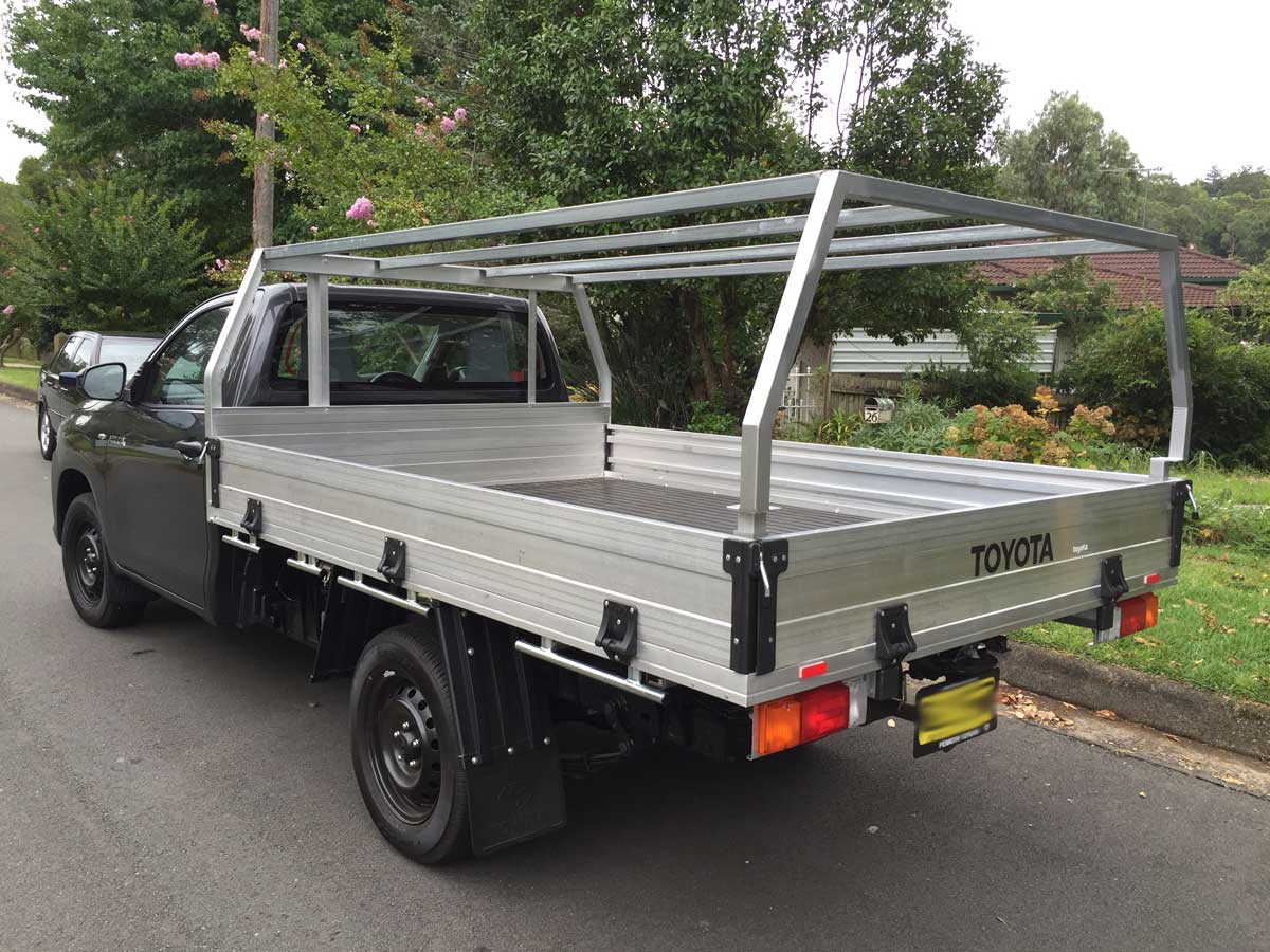 Hilux Ute Canopy Kit for Workmate & Canvas canopy kits for Hilux : Wallaby Track Canvas