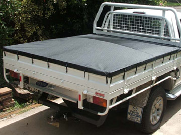 how to make a hard canopy for hilux tray back