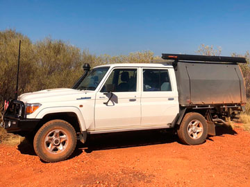Wallaby Track Canvas Ute Canopy