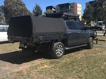 Hilux Canvas Canopy