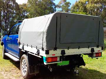 Ute Canvas covers