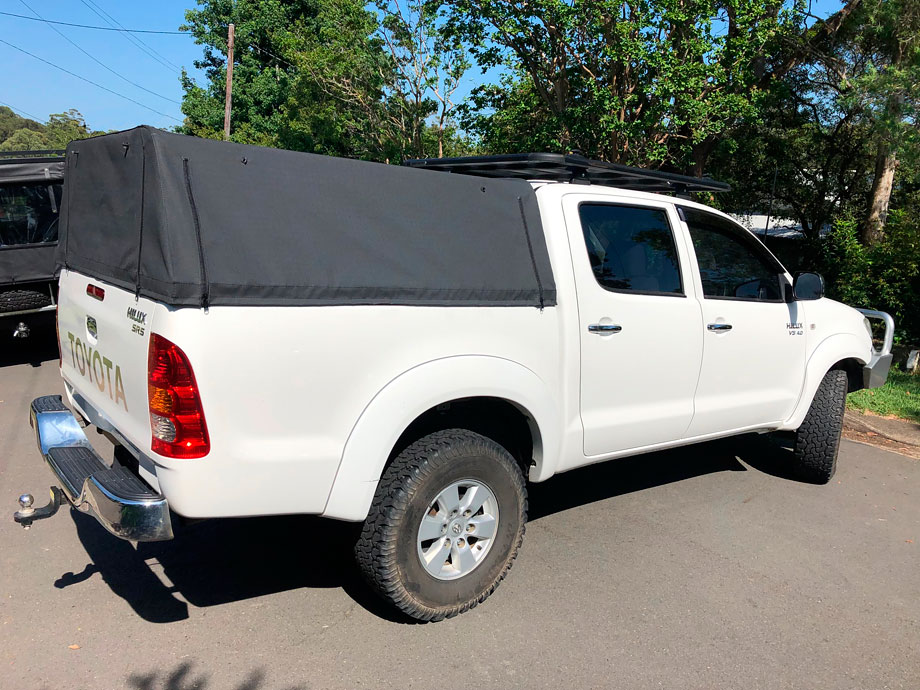 Dual Cab Ute Tub Setups