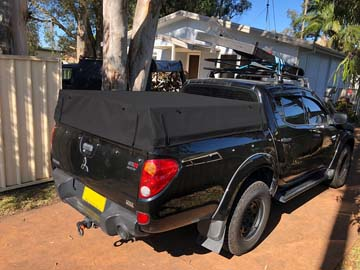 Mitsubishi Triton Half Height Tub Kits for Roof Top Tents