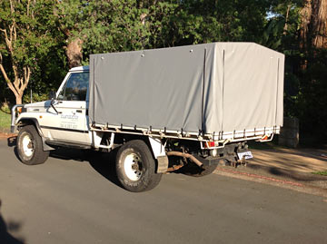LandCruiser canvas ute covers