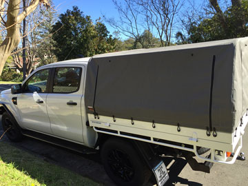 canvas ute canopies