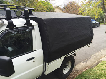 Canvas Ute Canopy