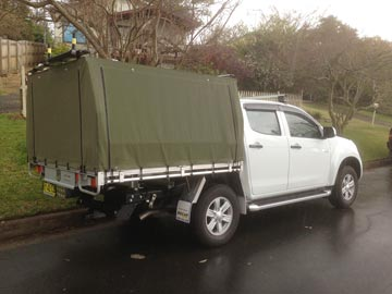 Custom made ute covers D-Max