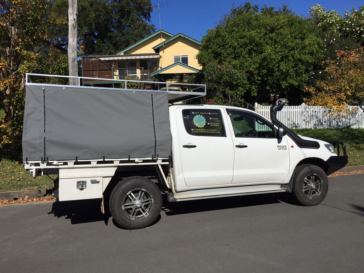 ... Canvas Ute Canopy ... & Hard Top Canvas Ute Canopies u0026 Covers:Wallaby Track Canvas