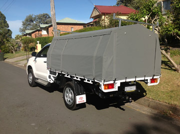 HiLux Canopy Cover