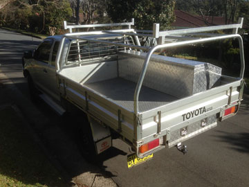 Canvas covers for Hilux utes