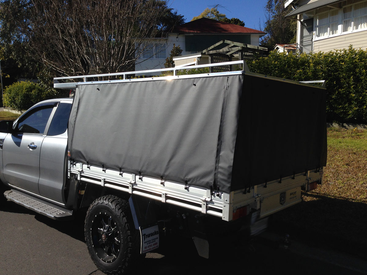 Hard Top Canvas Ute Canopies Amp Covers Wallaby Track Canvas