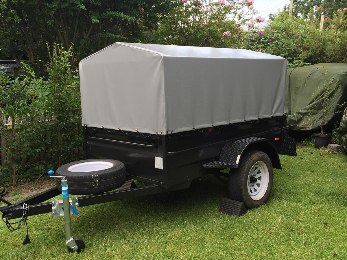 Trailer Canopies Amp Covers Wallaby Track Canvas