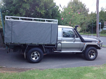 ... Top Canvas Covers Canvas Ute Canopies for Hard Tops ... & Hard Top Canvas Ute Canopies u0026 Covers:Wallaby Track Canvas