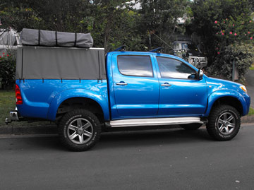 Tub Back Canvas Ute Canopy canvas ute cover repairs & Hard Top Canvas Ute Canopies u0026 Covers:Wallaby Track Canvas