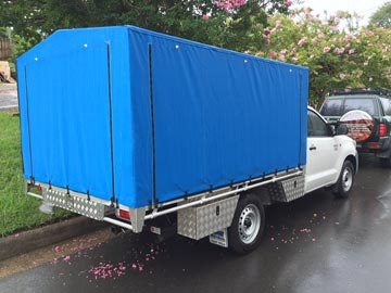 Ute canopies for hilux
