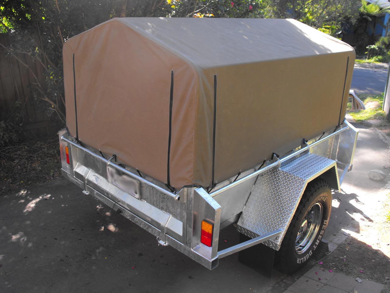 How To Quote A Website >> Trailer Canopies & Covers:Wallaby Track Canvas