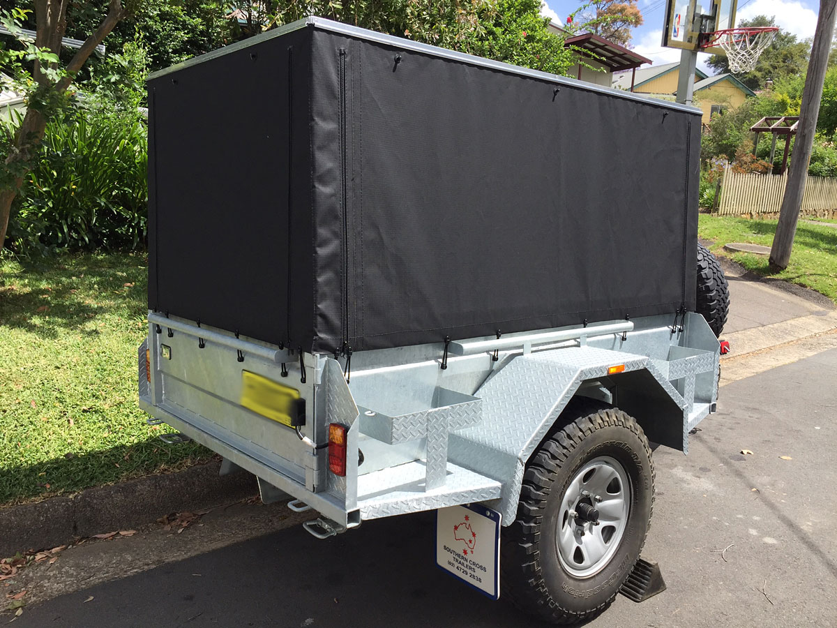 Build A Rv Cover : Trailer canopies covers wallaby track canvas